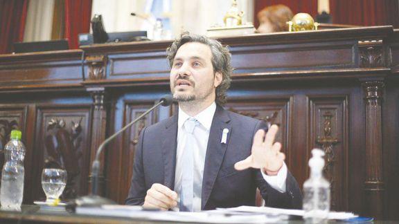 Santiago Cafiero responderá más  de mil preguntas en el Congreso