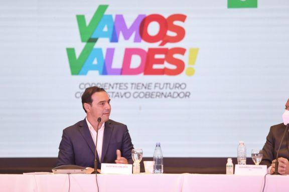 Gustavo Valdés anunció que irá en busca de la reelección como gobernador de Corrientes