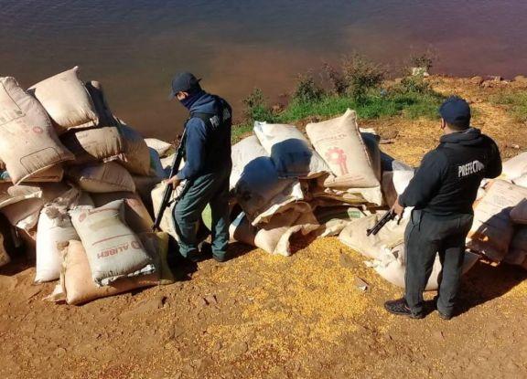 Secuestran más de seis toneladas de maíz en Misiones