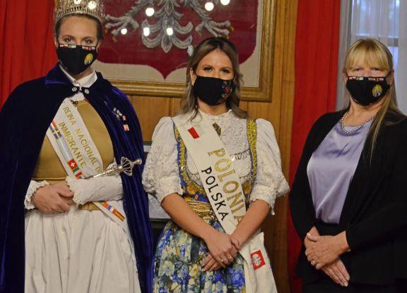 Dana Nicole Moniec Bojko fue electa como Reina de la Colectividad Polaca