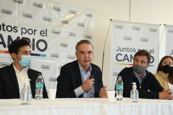 Pichetto arribó a Misiones y acompañó a candidatos de Juntos por el Cambio
