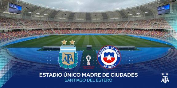 Argentina vs Chile: Hora, Tv y Formaciones