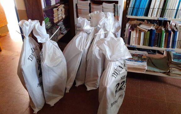 Eldorado: acondicionan las escuelas para el acto eleccionario del 6 de junio