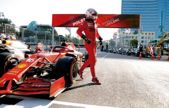 F1: segunda pole position consecutiva para Leclerc