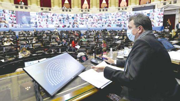 El debate político sobre compras de vacunas se verá en Diputados
