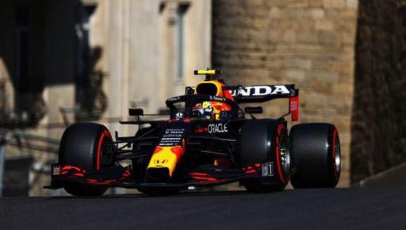 El mexicano Checo Pérez logró la victoria en el Gran Premio de Bakú de Fórmula 1