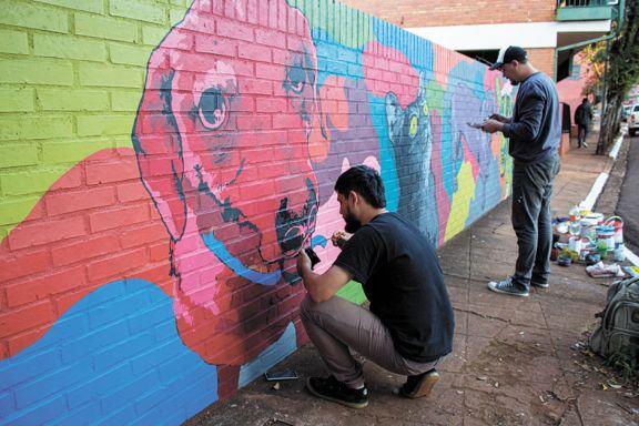 La pintura y su aporte a  la estética de la ciudad