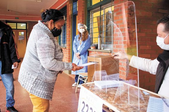 La concurrencia a la votación en toda la provincia rondó el 60%