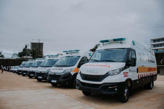 Nuevas ambulancias para reforzar la Red de Traslados en el interior de la provincia
