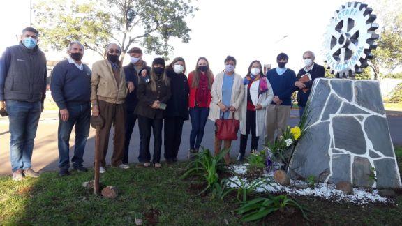 Recordaron los 75 años del Rotary Club en Alem
