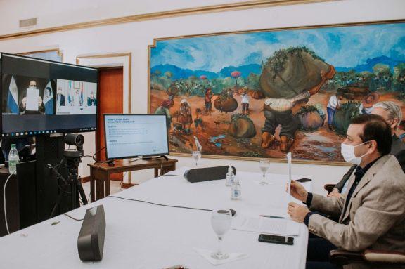 Misiones y Neuquén firmaron un convenio de asistencia y cooperación