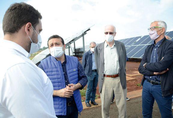 San Juan proveerá paneles a Misiones para sumar más energía