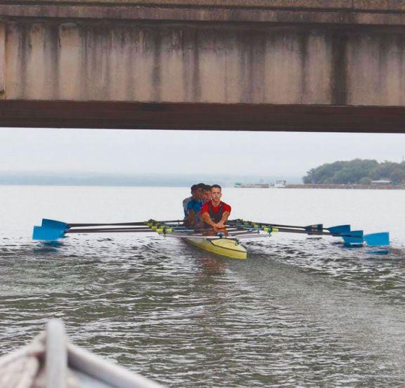 Olímpicos y sub 23 reman en el Paraná