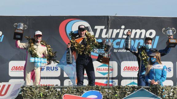 Facu Bustos alcanzó su primer podio en el Turismo Nacional