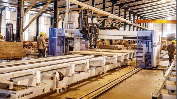 La fábrica de casas realiza unas 80 viviendas al mes en el Parque Industrial