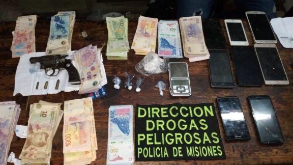 Allanamiento: desmantelaron otro kiosco de narcomenudeo en Posadas