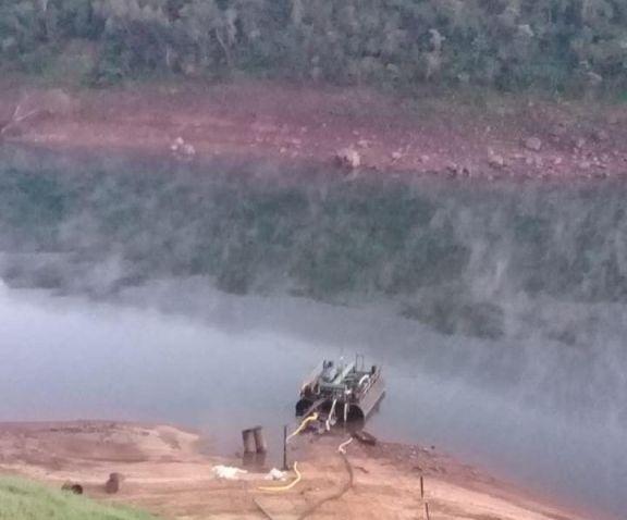 Crisis Hídrica: nueva bajante dejó fuera de servicio la toma de agua del rio Iguazú