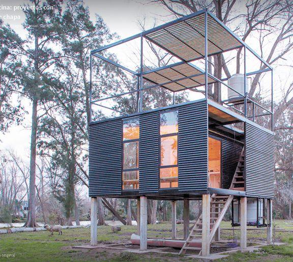 Chapa, material que logra crear el estilo industrial en el hogar