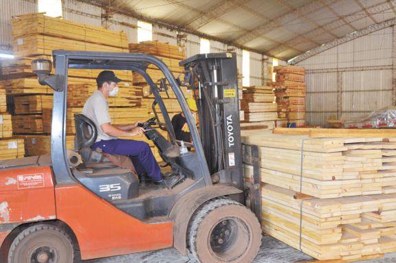 Poca demanda de casas de madera en Eldorado