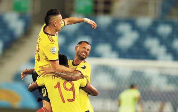 Cardona le dio la victoria a Colombia ante Ecuador