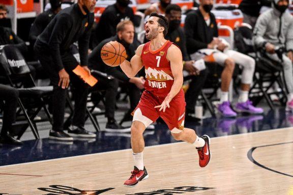Campazzo y Denver se despidieron de la temporada de NBA barridos por Phoenix