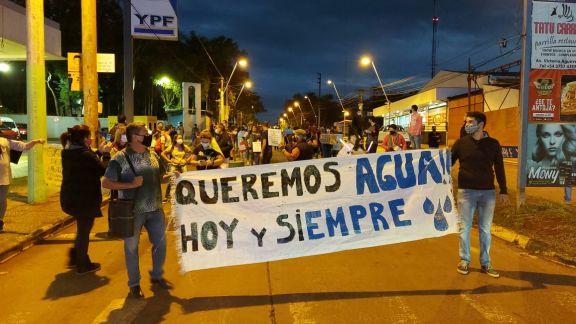 Vecinos de Iguazú convocan a una manifestación frente a Imas para exigir agua