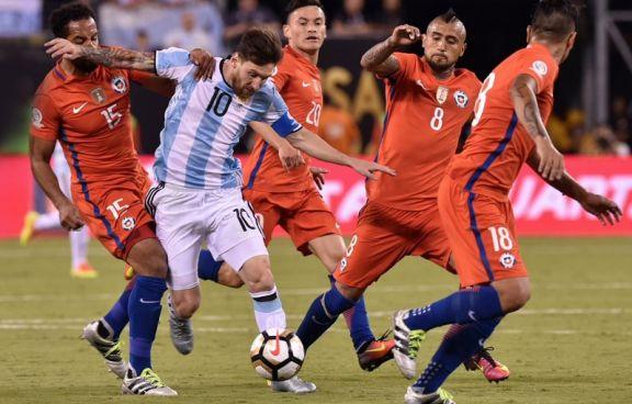 Argentina debuta en la Copa América ante Chile