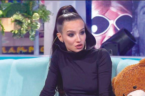 Brenda habló de la relación que mantuvo con Tevez