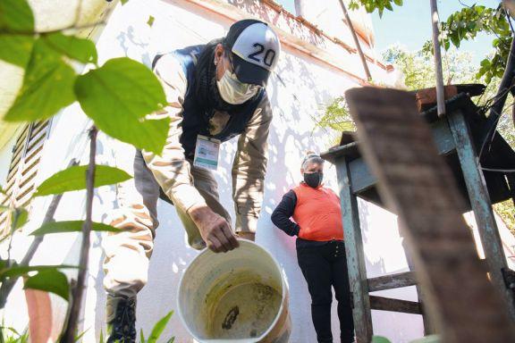 Liraa: Villa Cabello y parte de Itaembé Miní, las zonas rojas por el dengue
