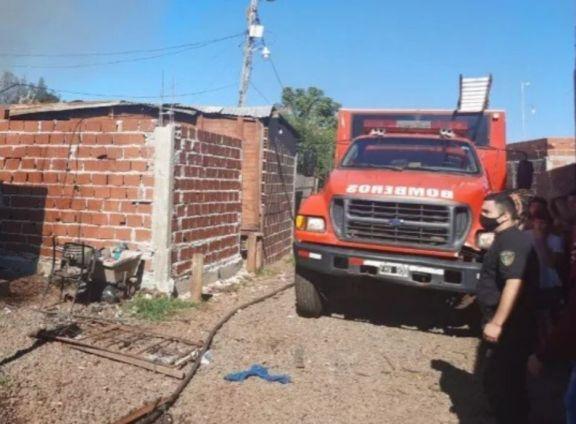 """Pereyra tras el incendio de su vivienda: """"Queremos encontrar un lugar donde poder vivir"""""""