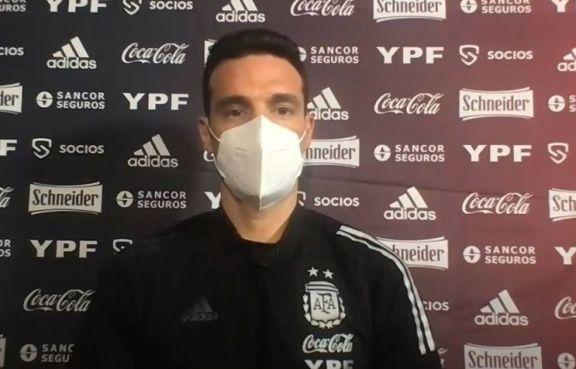 """Scaloni, tras la igualdad ante Chile: """"La pelota ya va a entrar, no hay problema"""""""