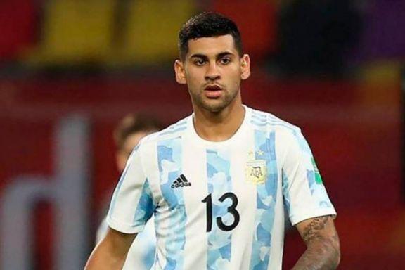Cristian Romero trabajó con normalidad y puede volver ante Uruguay