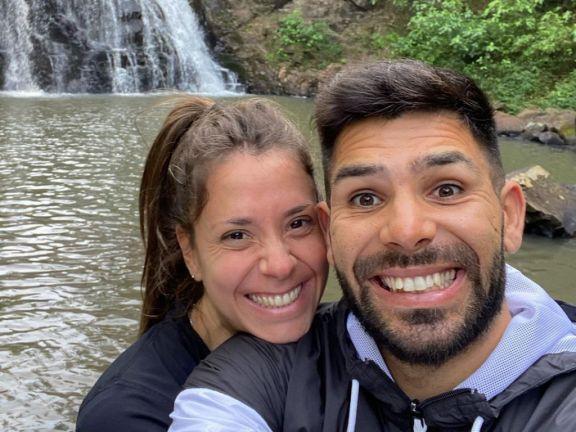 Silvio Romero de vacaciones en Misiones