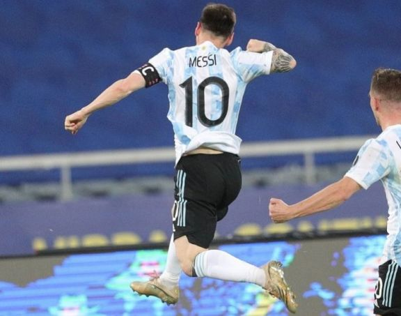 """Messi: """"Vamos a seguir luchando por ganar cada partido"""""""
