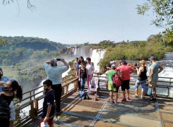 Cataratas volverá a recibir turistas este fin de semana