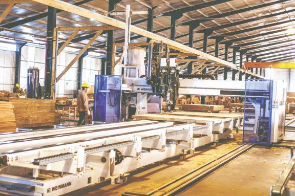 La modernización de las industrias es un factor clave para responder a las altas demandas. Foto: Federico Gross