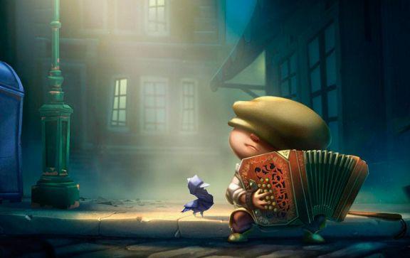 Un niño y su bandoneón exploran el mundo