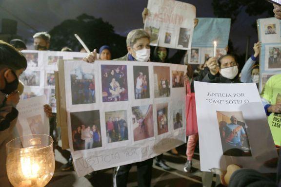 Marcharon pidiendo justicia por el asesinato de Sotelo