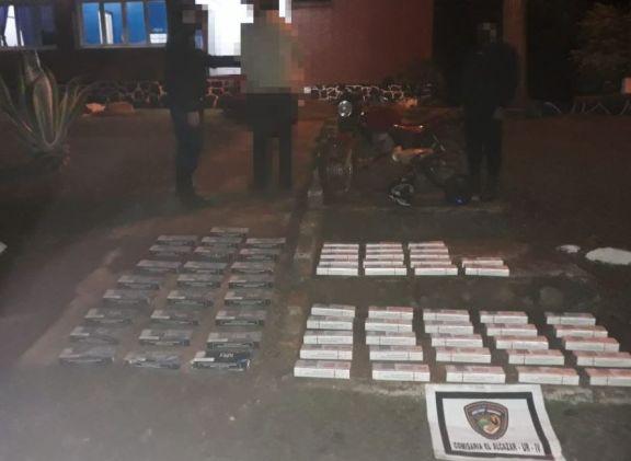 El Alcázar: secuestran 67 gruesas de cigarrillos de origen extranjero sin aval aduanero