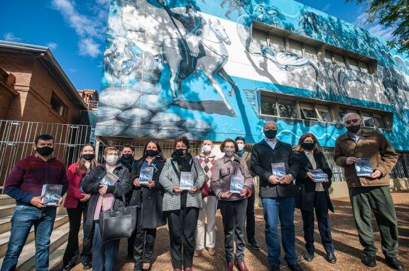 Se presentó ayer el libro con ponencias sobre Belgrano