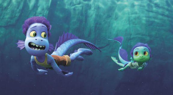 Pixar presenta  'Luca', una oda a la amistad y a la costa italiana