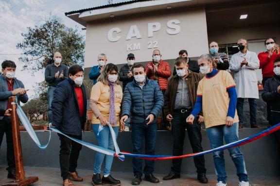 Inauguraron remodelación de un Caps en Colonia Mado