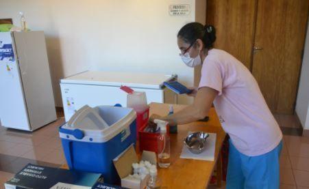 Se amplían los puntos de vacunación en el Departamento Libertador General San Martín