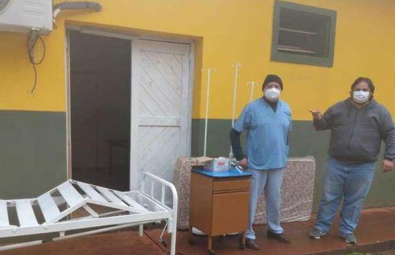 El municipio de Puerto Libertad donó elementos al hospital local