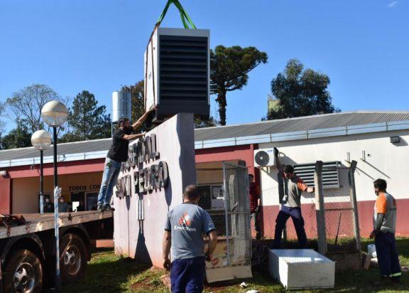San Pedro: nuevo generador permitirá mayor flujo de oxígeno y realización de cirugías menores en el hospital