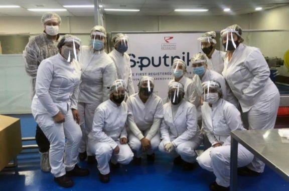 Richmond concluyó la producción de sus primeras 450.000 dosis de la vacuna Sputnik V