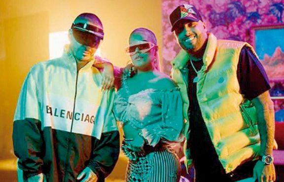 Karol G, J Balvin y Nicky Jam estrenan el remix 'Poblado'