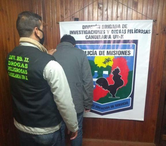 Candelaria: detuvieron a un traficante de drogas con pedido de la Interpol
