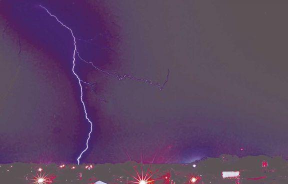 La primera tormenta