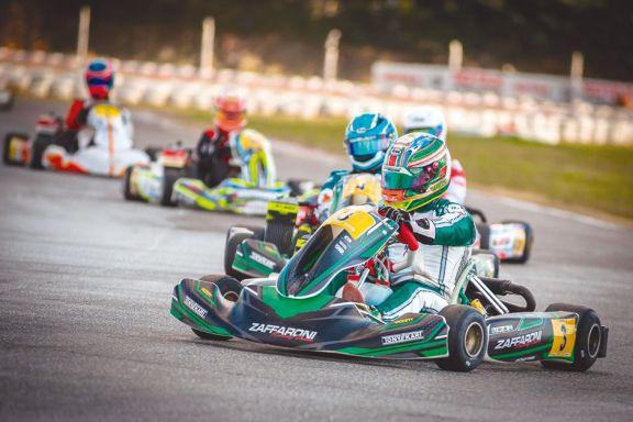 Karting: Chicho Grimaldi fue  sexto en Zárate
